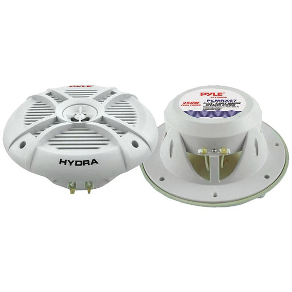 "Check it out Automotive Marine & GPS Pyle PLMRX67 Hydra Series Aqua Pro 6.5"" 250-Watt 2-Way Marine Speakers Default Title Pyle at popular-product-trends.myshopify.com"