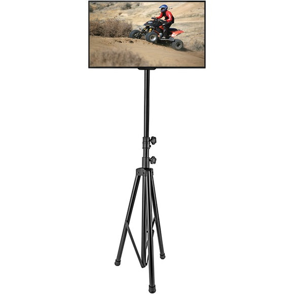 Pyle Home PTVSTNDPT3211 Portable Tripod TV Stand (Up to 60