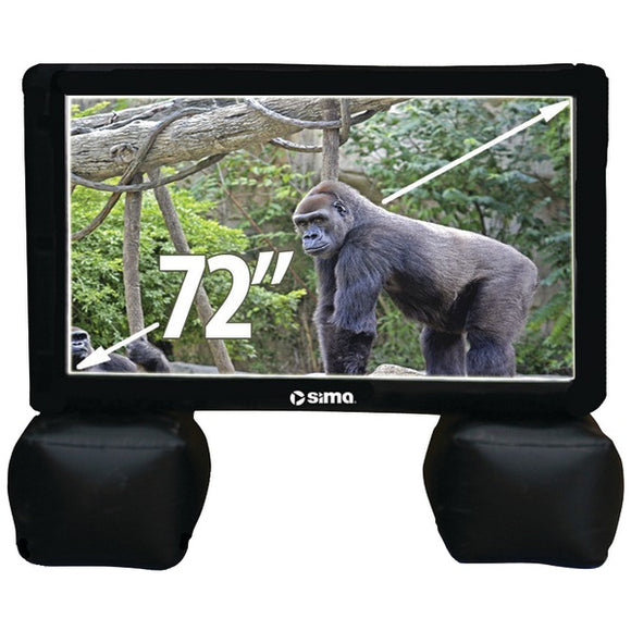 "Check it out Home Theater & Custom Install Sima SI-6 72"" Indoor-Outdoor Inflatable Screen Default Title Sima at popular-product-trends.myshopify.com"