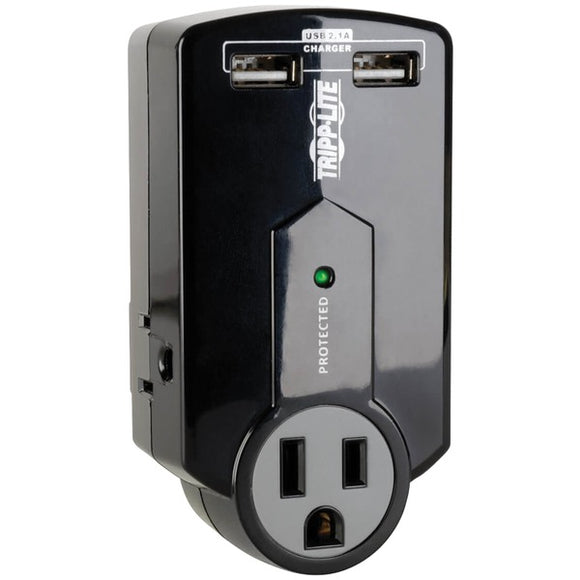 Check it out Home Theater & Custom Install Tripp Lite SK120USB Protect It 3-Outlet Surge Protector with USB Ports Default Title Tripp Lite at popular-product-trends.myshopify.com