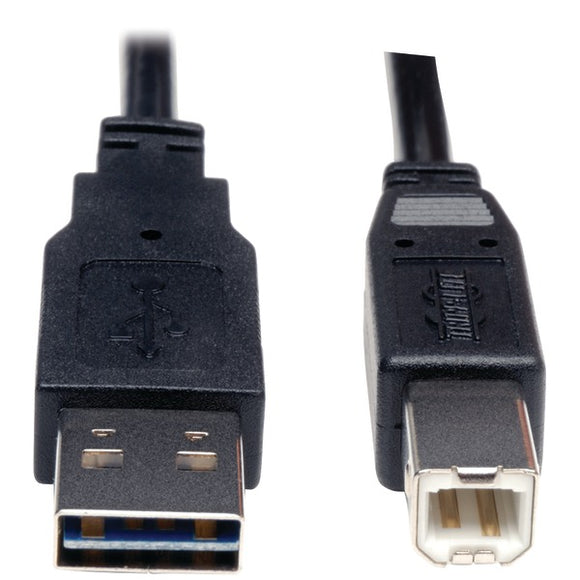 Tripp Lite UR022-006 A-Male to B-Male Reversible USB 2.0 Cable (6ft)