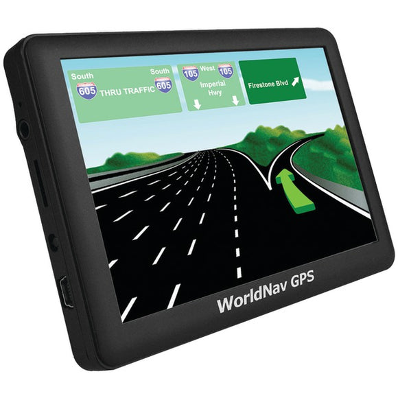"Check it out Automotive Marine & GPS TeleType Co. 588060 WorldNav 5880 High-Resolution 5"" Truck GPS with Bluetooth Default Title Teletype Co. at popular-product-trends.myshopify.com"