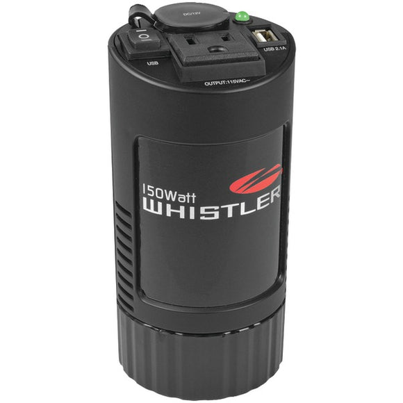 Check it out Automotive Marine & GPS Whistler XP150i XP Series 150-Watt-Continuous Cup-Holder Power Inverter Default Title Whistler at popular-product-trends.myshopify.com