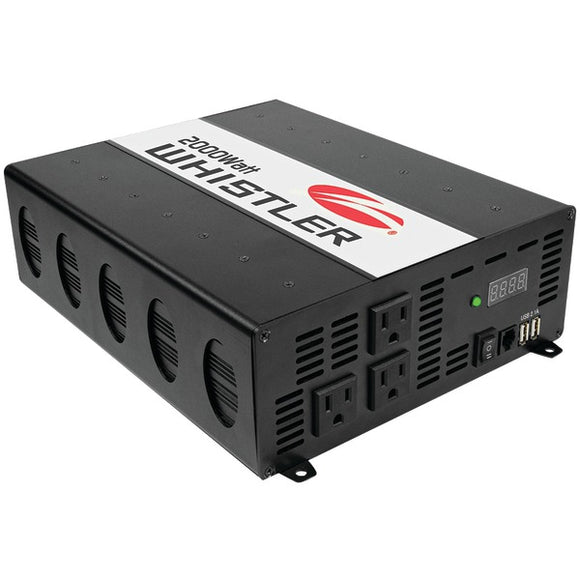 Check it out Automotive Marine & GPS Whistler XP2000i XP Series 2,000-Watt-Continuous Power Inverter Default Title Whistler at popular-product-trends.myshopify.com