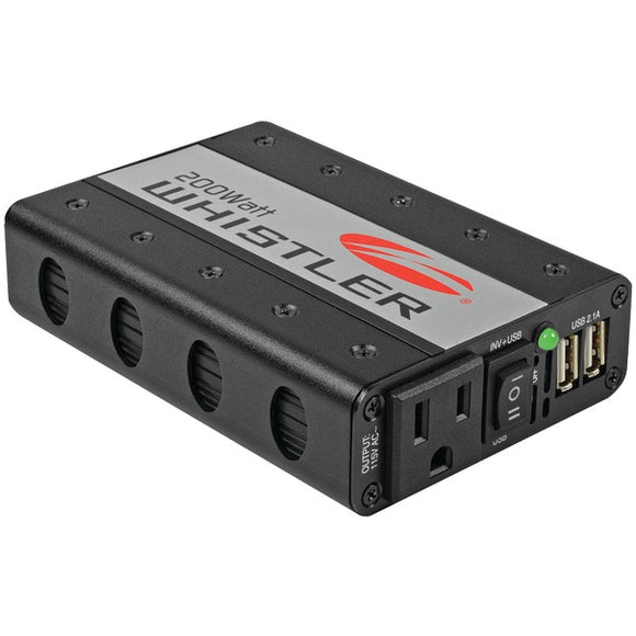 Check it out Automotive Marine & GPS Whistler XP200i XP Series 200-Watt-Continuous Power Inverter Default Title Whistler at popular-product-trends.myshopify.com