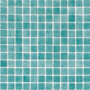 GREEN SWIMMING POOL TILES MOSAIC