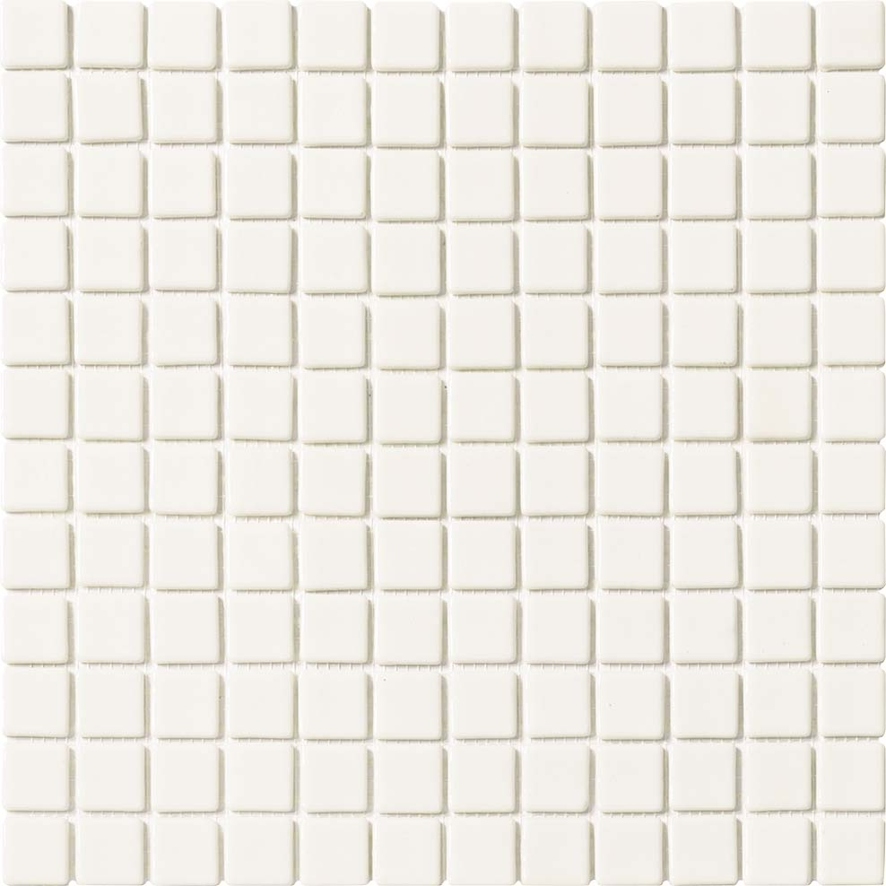 WHITE MOSAIC POOL TILES MOSAIC
