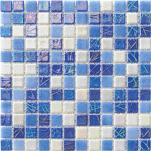 Load image into Gallery viewer, BLUE WHITE MOSAIC TILE
