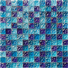 Load image into Gallery viewer, IRIDESCENT POOL TILE MOSAIC