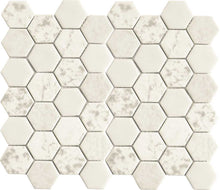 Load image into Gallery viewer, WHITE HEXAGON TILE