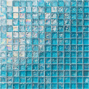 TURQUOISE GLASS MOSAIC