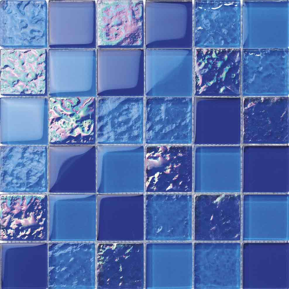 BLUE MOSAIC TILE