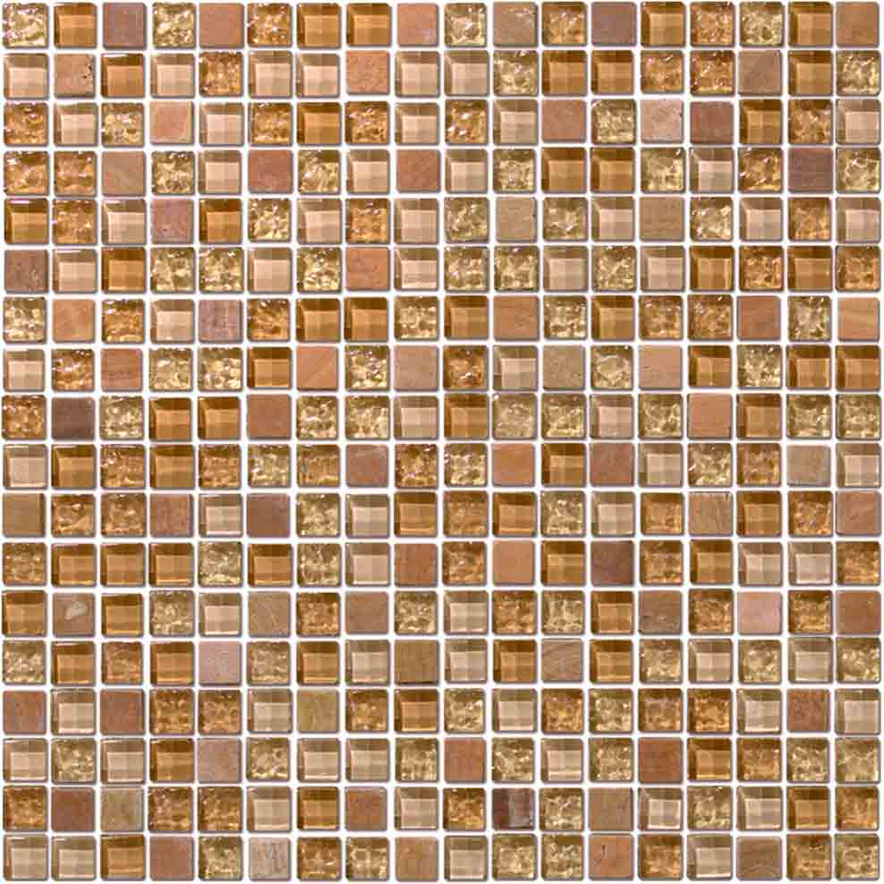 BROWN POOL TILE
