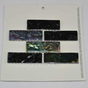 BLACK GLASS TILE
