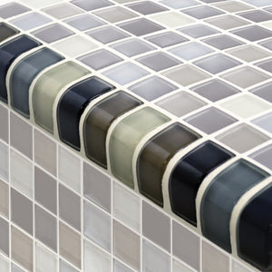 GLASS ACCENT TILE TRIM
