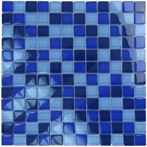 SWIMMING POOL GLASS TILE MOSAIC