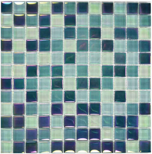 GREEN POOL TILES MOSAIC