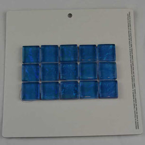 WATERLINE POOL TILES MOSAIC BEACH BLUE 1X2