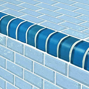 WATERLINE POOL TILES MOSAIC TRIM
