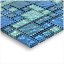 Load image into Gallery viewer, BLUE TILE BACKSPLASH MOSAIC