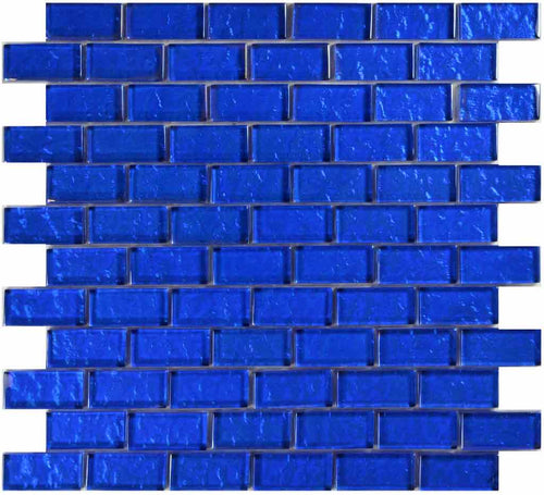 BLUE POOL TILE MOSAIC