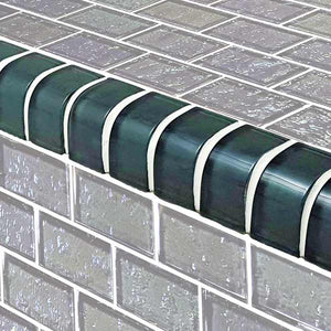 GREY POOL TILES TRIM