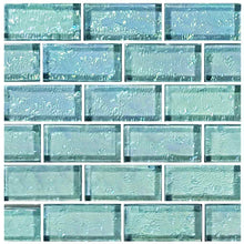 Load image into Gallery viewer, TURQUOISE POOL TILE MOSAIC