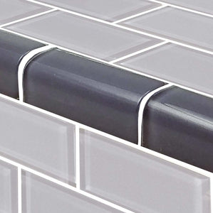BLUE SUBWAY TILE BACKSPLASH
