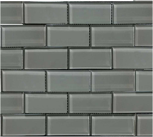 GRAY POOL TILE MOSAIC