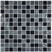 Load image into Gallery viewer, BLACK TILE SWIMMING POOL MOSAIC