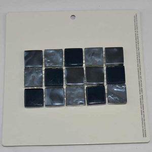 1x1 POOL TILE MOSAIC PACIFIC NAVY
