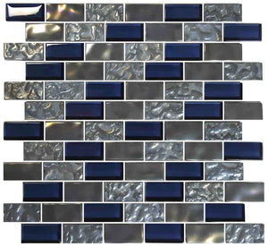 DARK BLUE SWIMMING POOL TILES