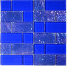 Load image into Gallery viewer, BLUE MOSAIC POOL TILE
