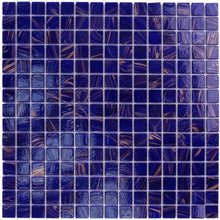 Load image into Gallery viewer, COBALT BLUE GLASS TILE