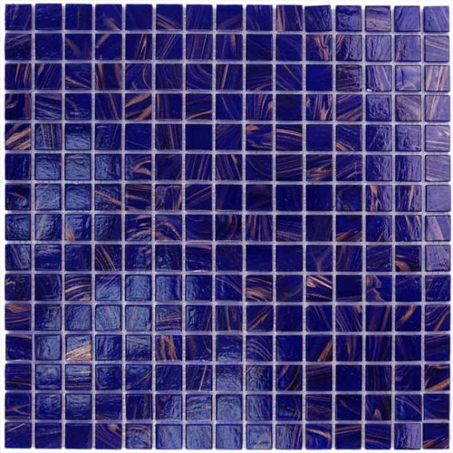 COBALT BLUE GLASS TILE