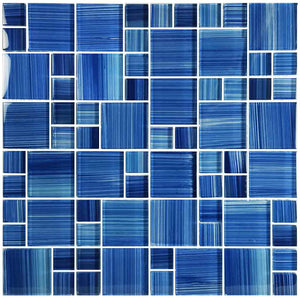 BLUE TILES FOR SWIMMING POOL