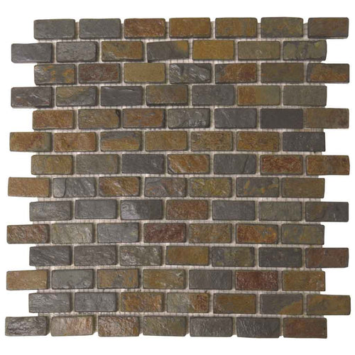 GRAY MOSAIC TILE