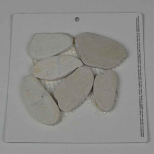 WHITE PEBBLE STONE