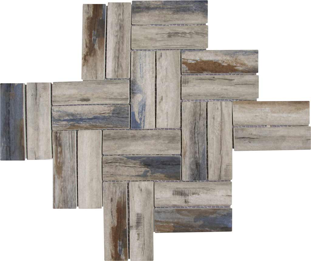 BLUE WOOD TILE