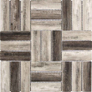 WOOD LOOK MOSAIC TILE