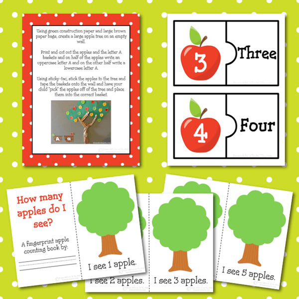 Kindergarten Apple Pack