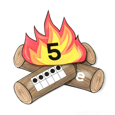 Campfire Number Sense (PHYSICAL PRODUCT)