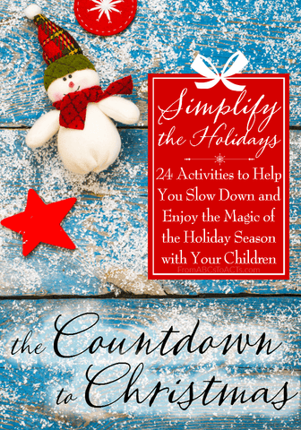 Slow down and enjoy the holiday season this year! With more than 90 pages, this eBook has everything you'll need for your family's most memorable Christmas season yet!