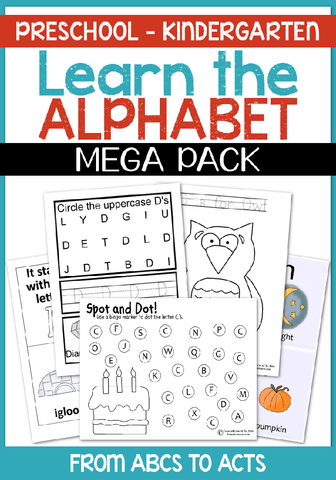 Learning the letters of the alphabet has never been more fun! With over 220 pages of alphabet activities, your preschooler will be an alphabet pro in no time!