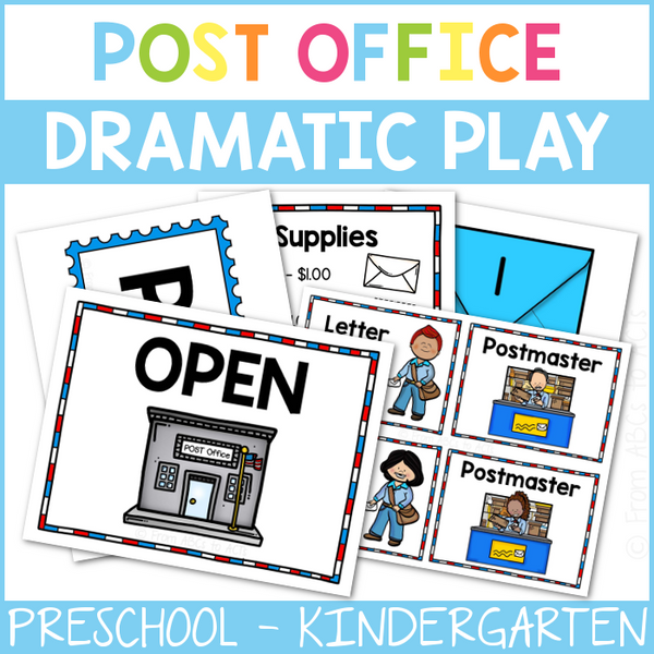 Post Office Dramatic Play Center