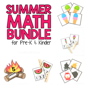 Summer Math Bundle (PHYSICAL PRODUCT)