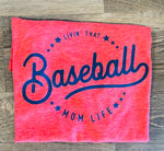 Baseball Mom Next Level - Poly/Cotton Crew