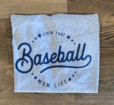 Baseball Mom Next Level Unisex Sueded Snow Crewneck T-Shirt