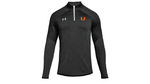 UA Womens Qualifier Hybrid 1/2 Zip - Embroidered