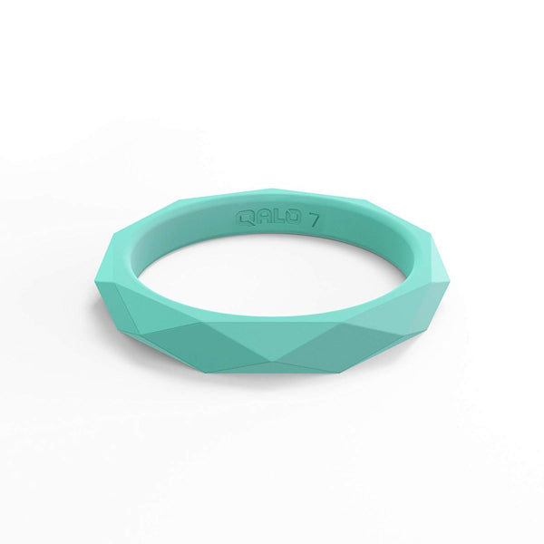 Ladies silicone rubber wedding ring